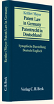 Patent Law in Germany